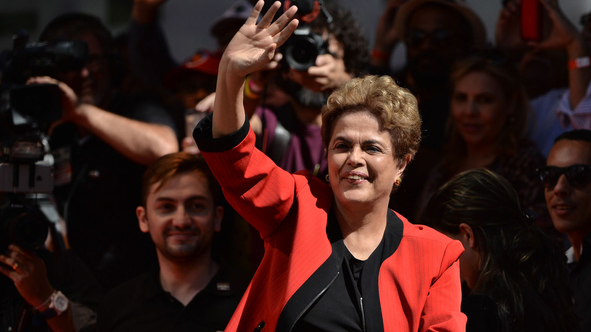 BRAZIL-MAY DAY-ROUSSEFF