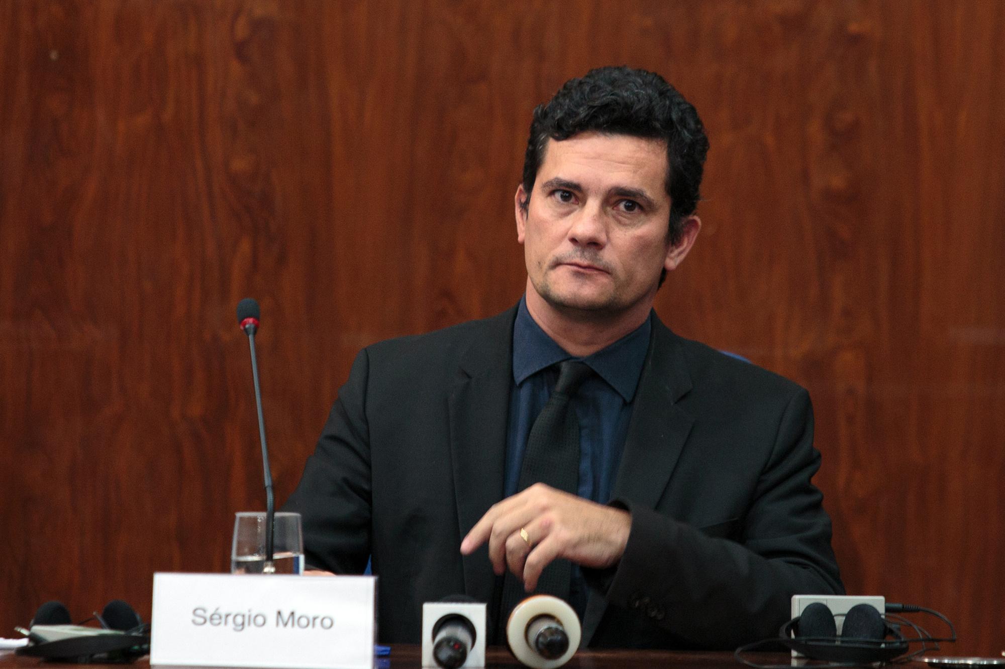 Sergio Moro, Judge In Brazilian Corruption Scandal Attends Lecture
